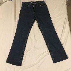 Harley Davidson Women's Boot Cut Denim Blue Jeans
